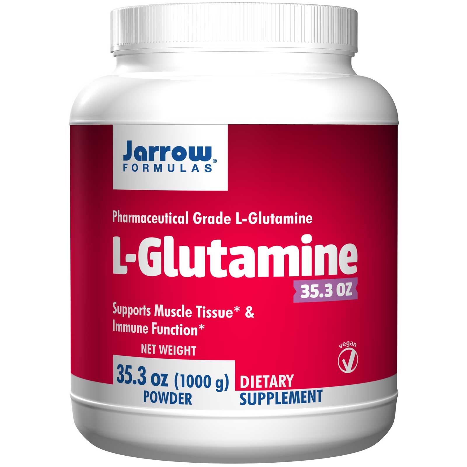 Image of L-Glutamine Powder (1000 gram) - Jarrow Formulas 0790011150350