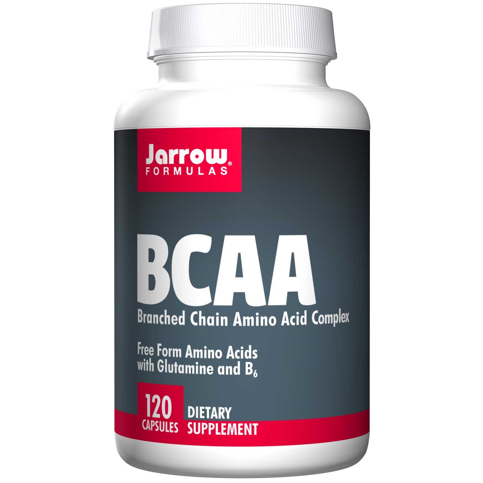 Image of BCAA, Branched Chain Amino Acid Complex (120 Capsules) - Jarrow Formulas 0790011150534