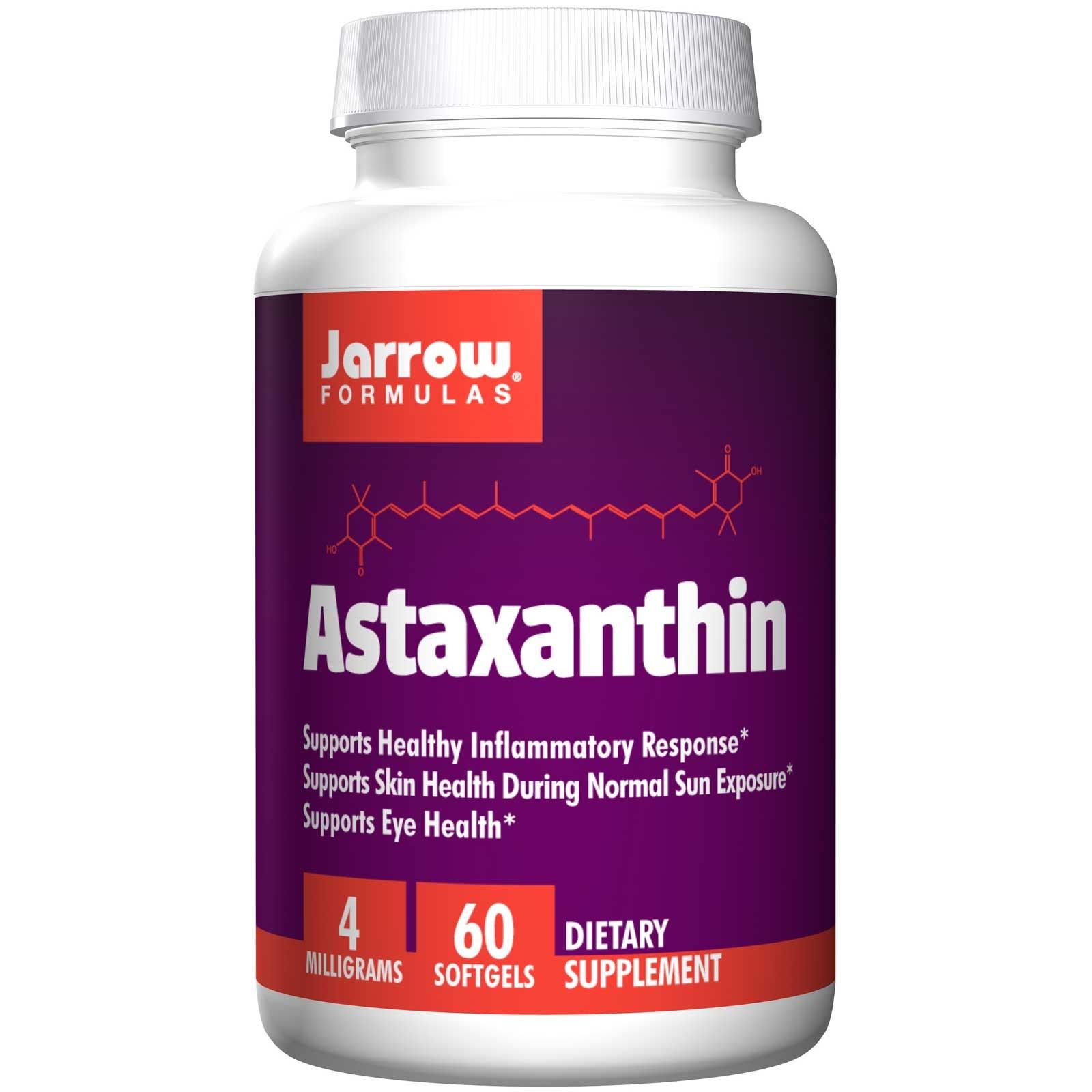 Image of Astaxantina 4 mg (60 capsule) - Jarrow Formulas 0790011200383