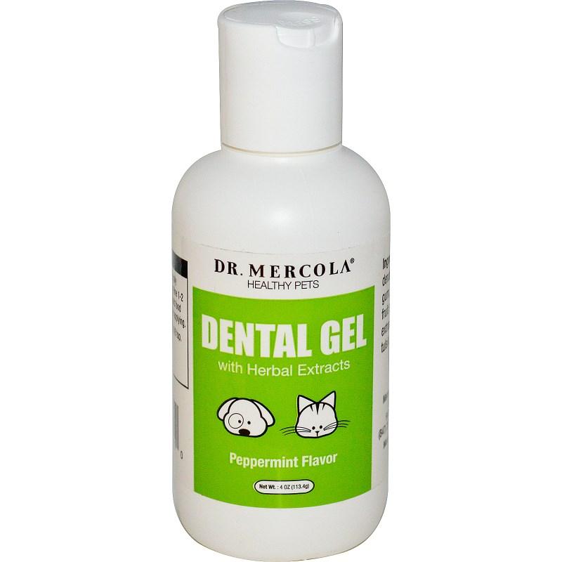 Image of Healthy Pets Dental Gel Peppermint Flavor (113.4 g) - Dr. Mercola 0813006015110