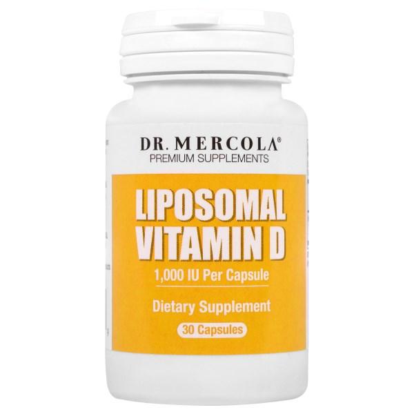 Image of Liposomal Vitamin D - 1.000 IU (30 capsules) - Dr. Mercola 0813006017329