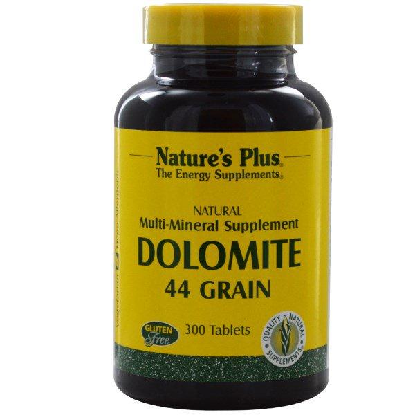 Image of Dolomite, 44 Grain (300 Tablets) - Nature's Plus 0097467038707