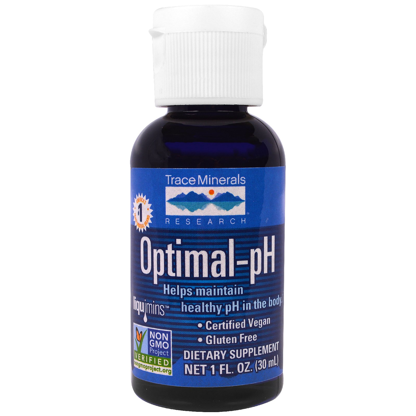 Image of Optimal-pH (30 ml) - Trace Minerals Research 0878941002397