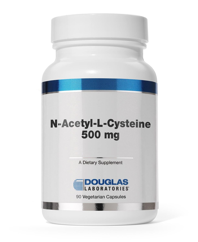 Image of Douglas Laboratories, N-acetil-L-cisteina, 90 vegetariano capsule 8713975920625