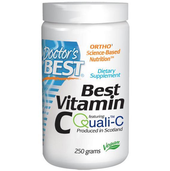 Image of Doctor's Best, Best Polvere di vitamina C (250 g) 0753950003330