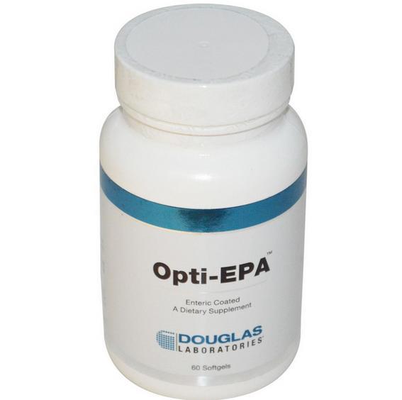 Image of Douglas Laboratories, OPTI-EPA, 60 Softgels 8713975991656