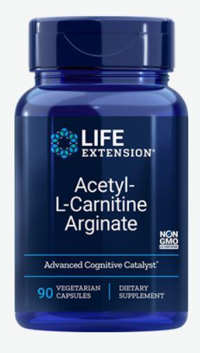 Image of Acetyl-L-Carnitine Arginate (90 Veggie Capsules) - Life Extension 0737870197492