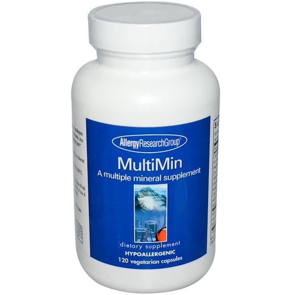 MultiMin 120 Veggie Caps Allergy Research Group