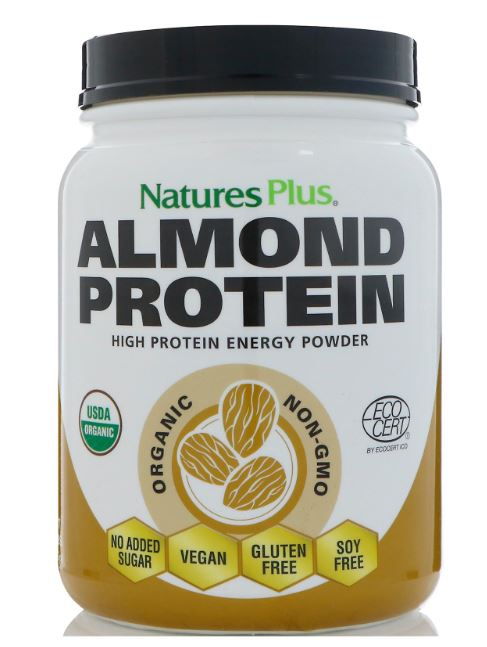 Image of Almond Protein (469 grams) - Nature's Plus 0097467459564