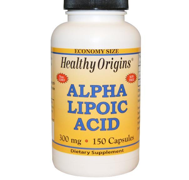 Image of Healthy Origins, Alpha Lipoic Acid, 300 mg, 150 Capsules 0603573350697