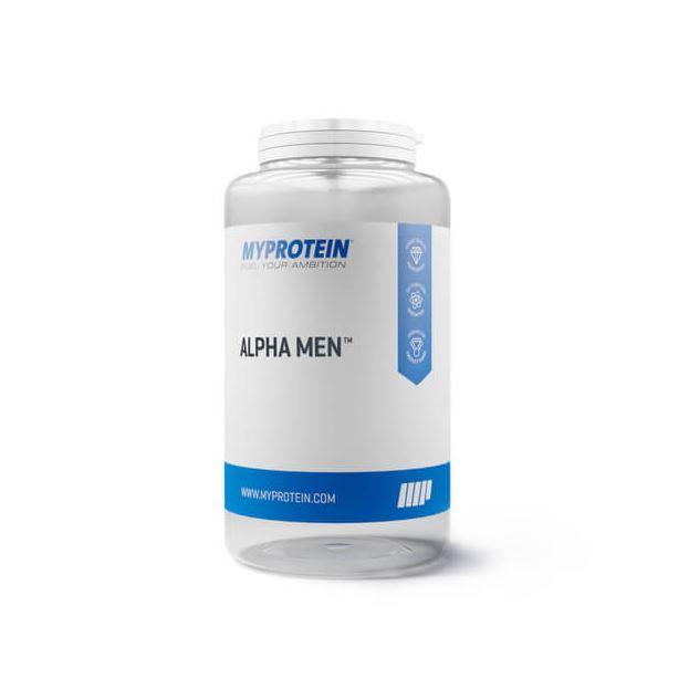 Alpha Men Multivitaminico super 120 Tabs MyProtein