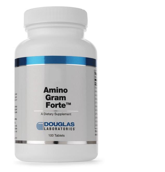 Image of Amino-Gram Forte (100 compresse) - Douglas Laboratories 8713975901457
