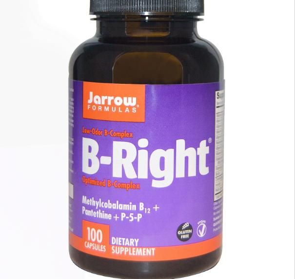 Image of B-Right, B-Complex (100 capsule) - Jarrow Formulas 0790011010067