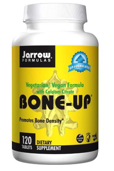 Image of Bone-Up Vegetarian/Vegan Formula With Calcium Citrate (120 tablets) - Jarrow Formulas 0790011040026