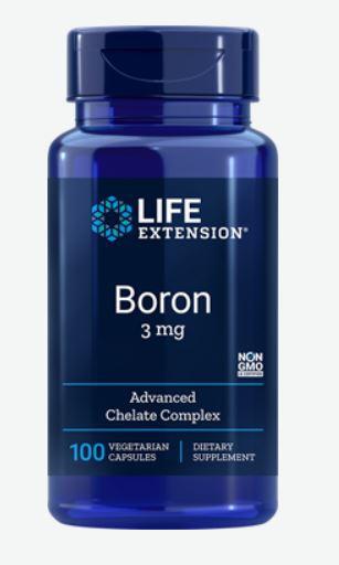 Image of Boro, 3 Mg 100 Capsule Vegetali - Life Extension 0737870166115