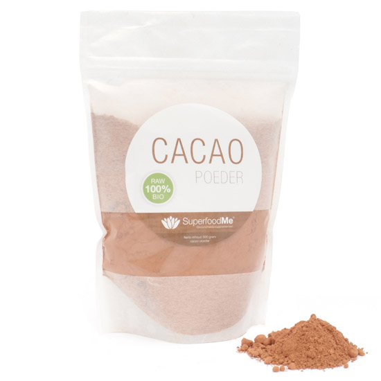 Image of Organic Cacao Powder (300 grams) - Superfoodme 8717953088710