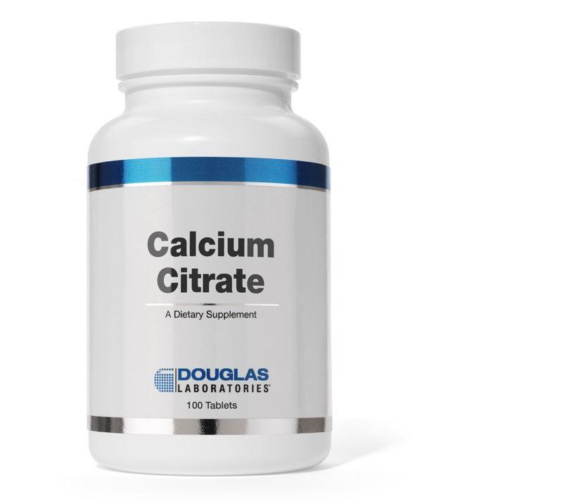 Image of Citrato di calcio - 100 compresse - douglas laboratories 8713975904090
