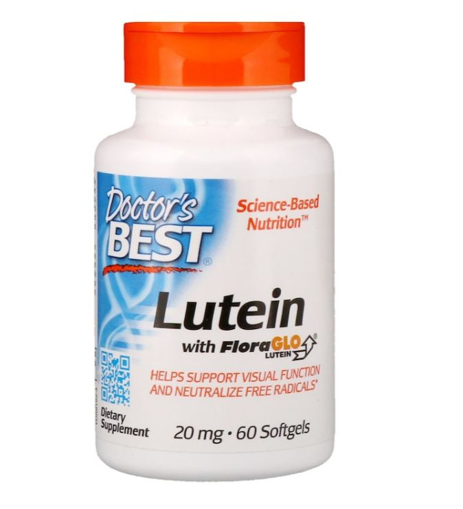 Image of Doctor's Best, Best Lutein featuring Lutemax (60 softgels) 0753950001923