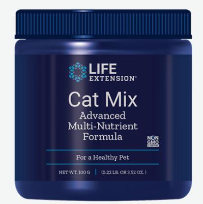 Image of Cat Mix Advanced Multi-Nutrient Formula (100 Gram) - Life Extension 0737870193210