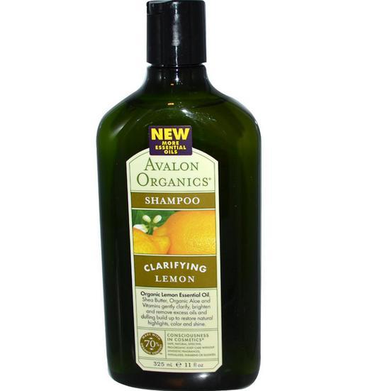 Image of Avalon Organics, Shampoo limone (325 ml) 654749351055
