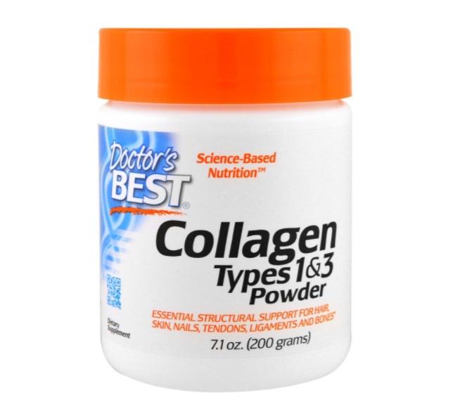 Image of Best Collagen Types 1 & 3 Powder (200 g) - Doctor's Best 0753950002036