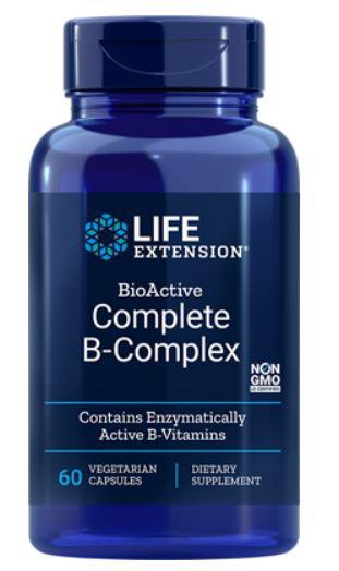 Image of Bio-attivo completo B-Complex (60 capsule) - Life Extension 0879326360409