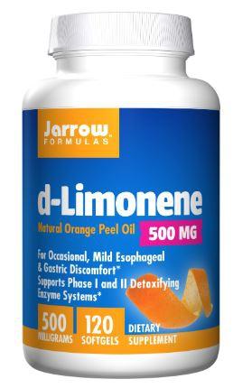 Image of d-Limonene 1000 mg (60 softgels) - Jarrow Formulas 0790011010340