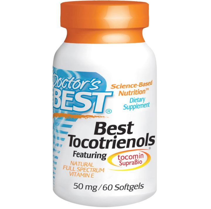 Image of Doctor's Best, Best Tocotrienoli, 50 mg, 60 Softgels 0753950002166