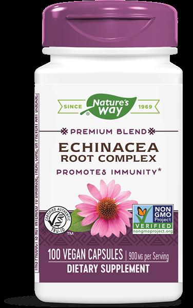 Image of Nature's Way, Echinacea Goldenseal 450 mg, 100 capsule 0033674004159