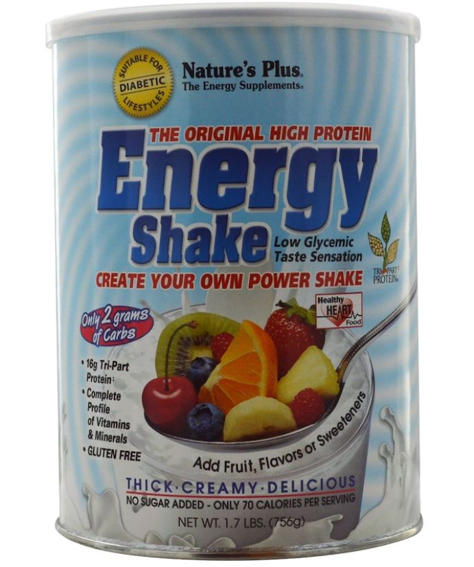 Image of Energy Shake - The Original High Protein (756 grams) - Nature's Plus 0097467459021