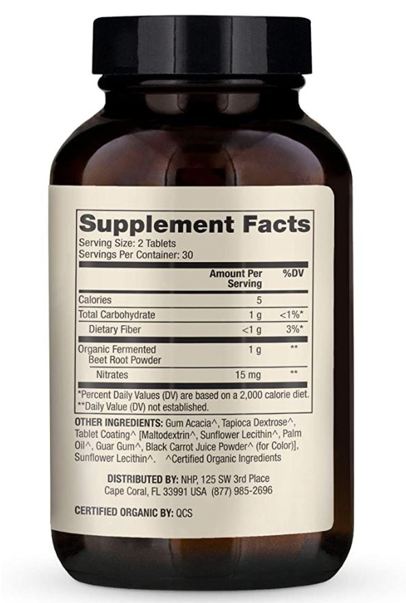 Image of Fermented Beets (60 Capsules) - Dr. Mercola 0810487033268