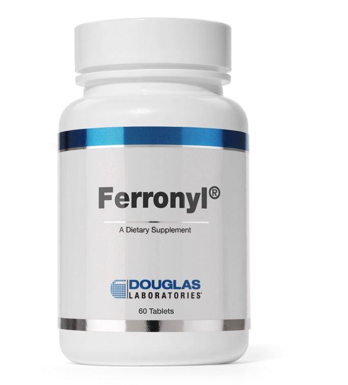 Image of Ferronyl (con vitamina C) - 60 compresse - Douglas Laboratories 8713975900351