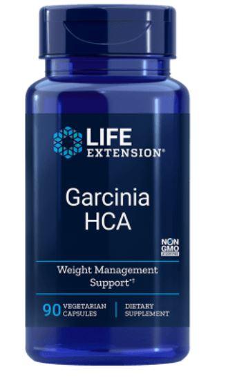 Image of Garcinia HCA (90 Veggie Capsules) - Life Extension 0737870173892