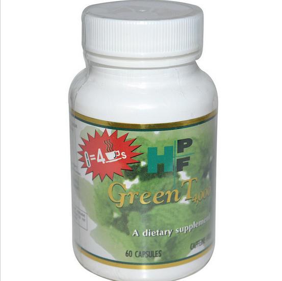 Image of Healthy Origins, Verde T 4.000, senza caffeina, 60 capsule 640485101023