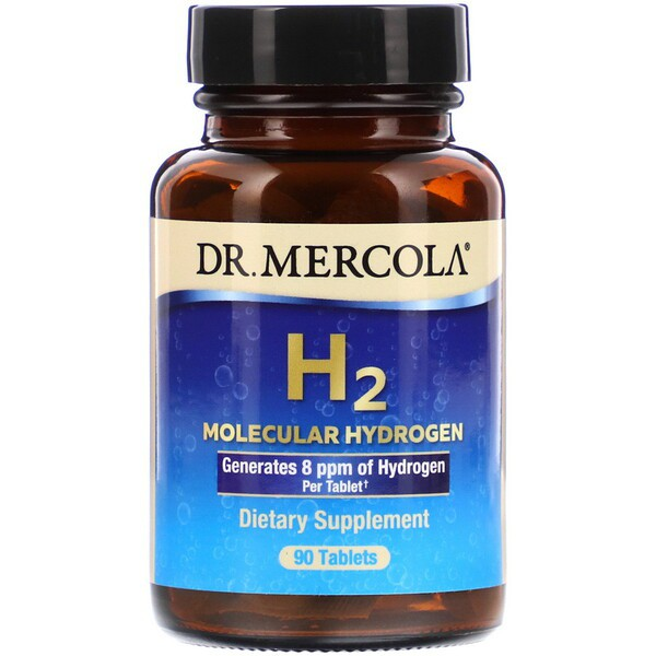 H2 Molecular Hydrogen 90 Tablets Dr. Mercola
