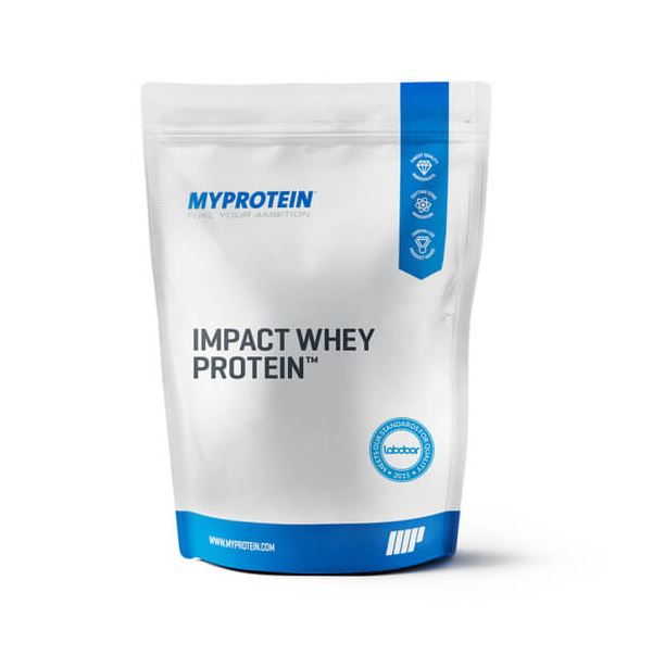 Image of Impact Whey Protein, Natural Chocolate 1kg - MyProtein 5055534320259