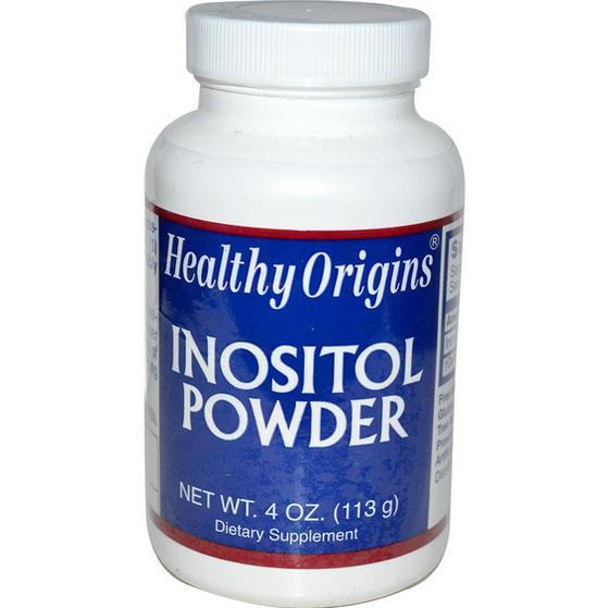 Healthy Origins, Inositolo in polvere (113 g)