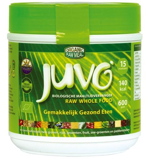 Image of Juvo organic raw meal - 600 grams - Juvo 0898938001004