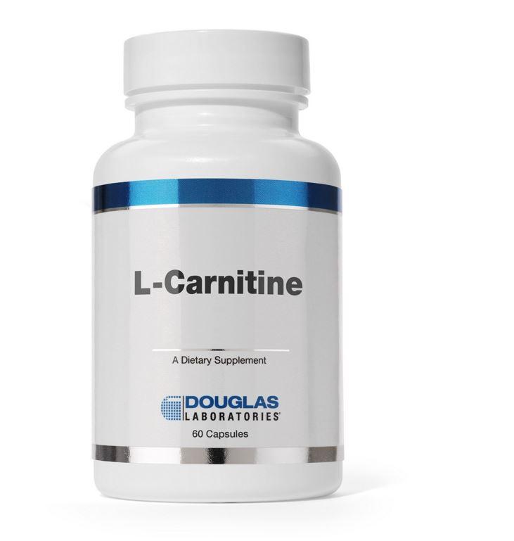 Image of L-carnitina 250 MG - 60 capsule - Douglas Laboratories 8713975902508