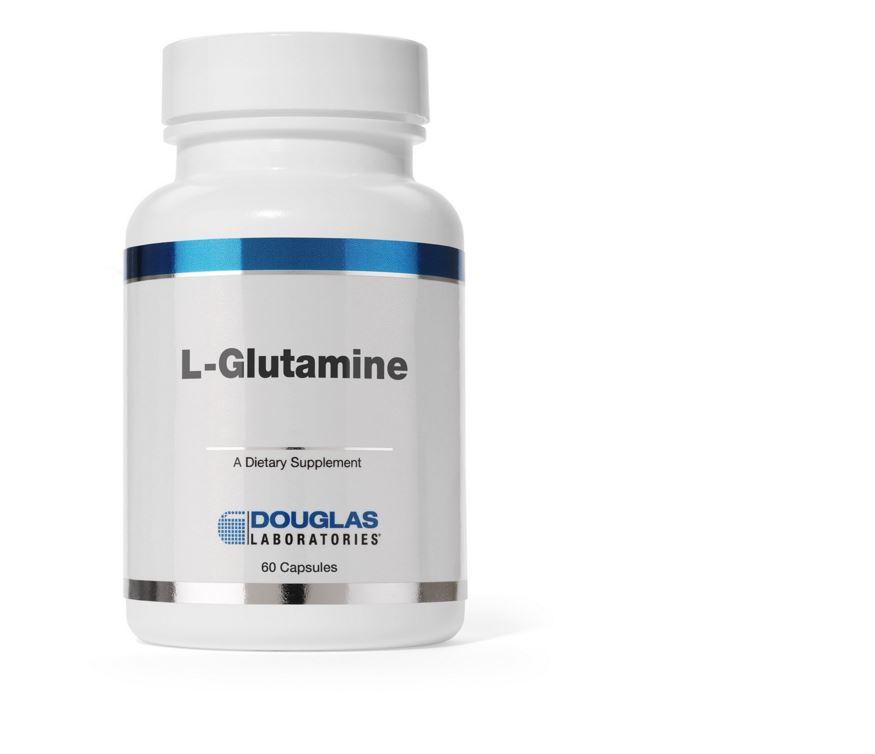 Image of L-Glutammina (500 mg.) 60 caps - Douglas Laboratories 8713975909408