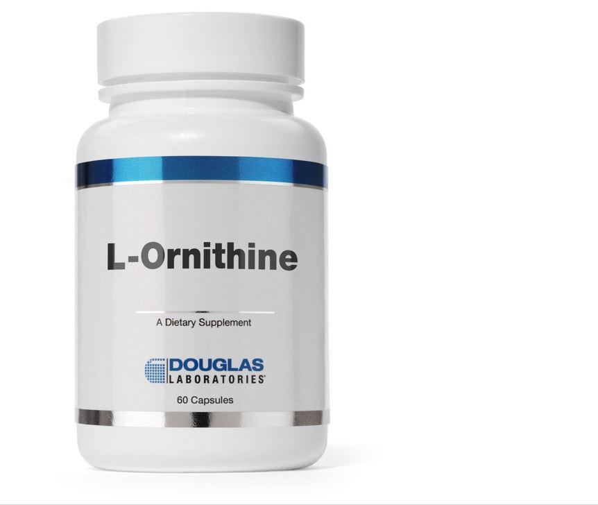Image of L-Ornithine - 60 capsules- Douglas Laboratories 8713975909385