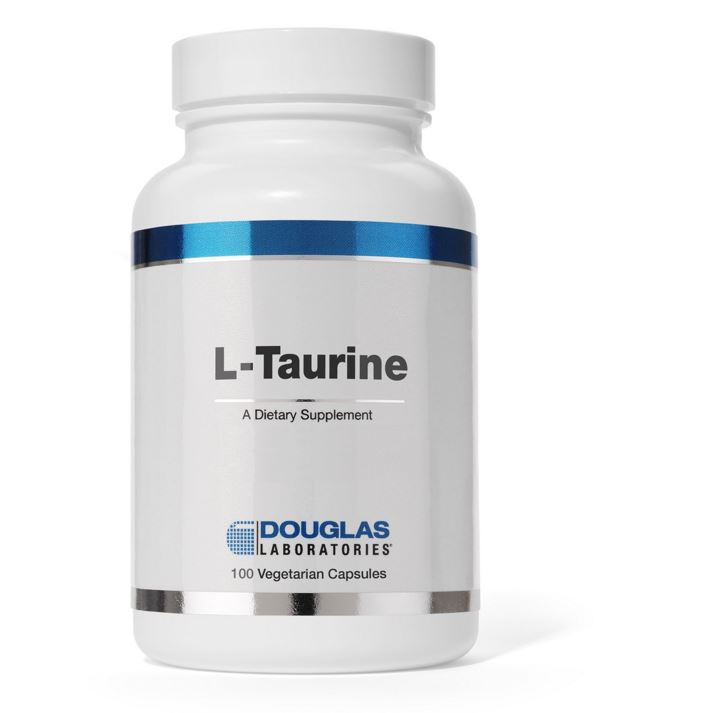 Image of L-taurina - 100 capsule vegetali - Douglas Laboratories 8713975991816