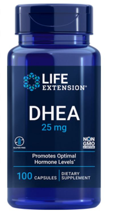 Image of DHEA 15 mg (100 capsule) - Life Extension 0737870607106