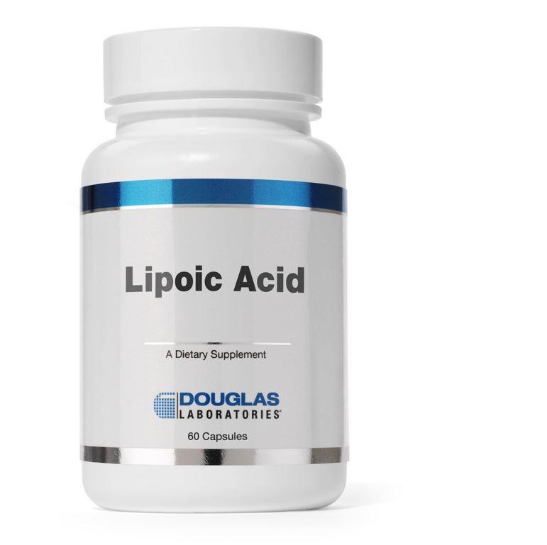 Image of Lipoic Acid (60 capsules)- Douglas Laboratories 8713975900061