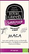 Image of Organic Maca (60 veggie caps) - Royal Green 8710267740107
