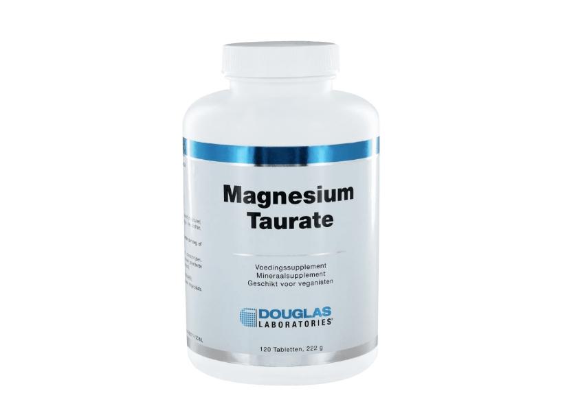 Image of Douglas Laboratories, Magnesio Taurate 400, 120 compresse 8713975991571