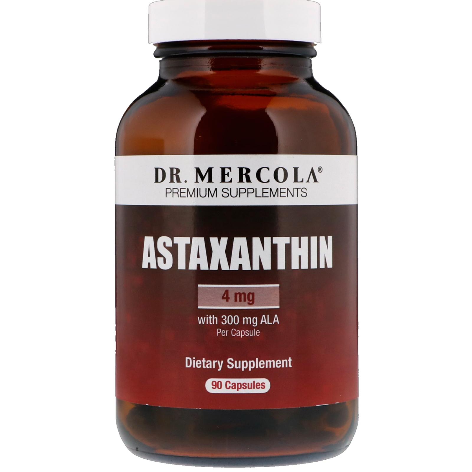 Image of Astaxantina (90 Licaps capsule) - Dr. Mercola 0810487036245