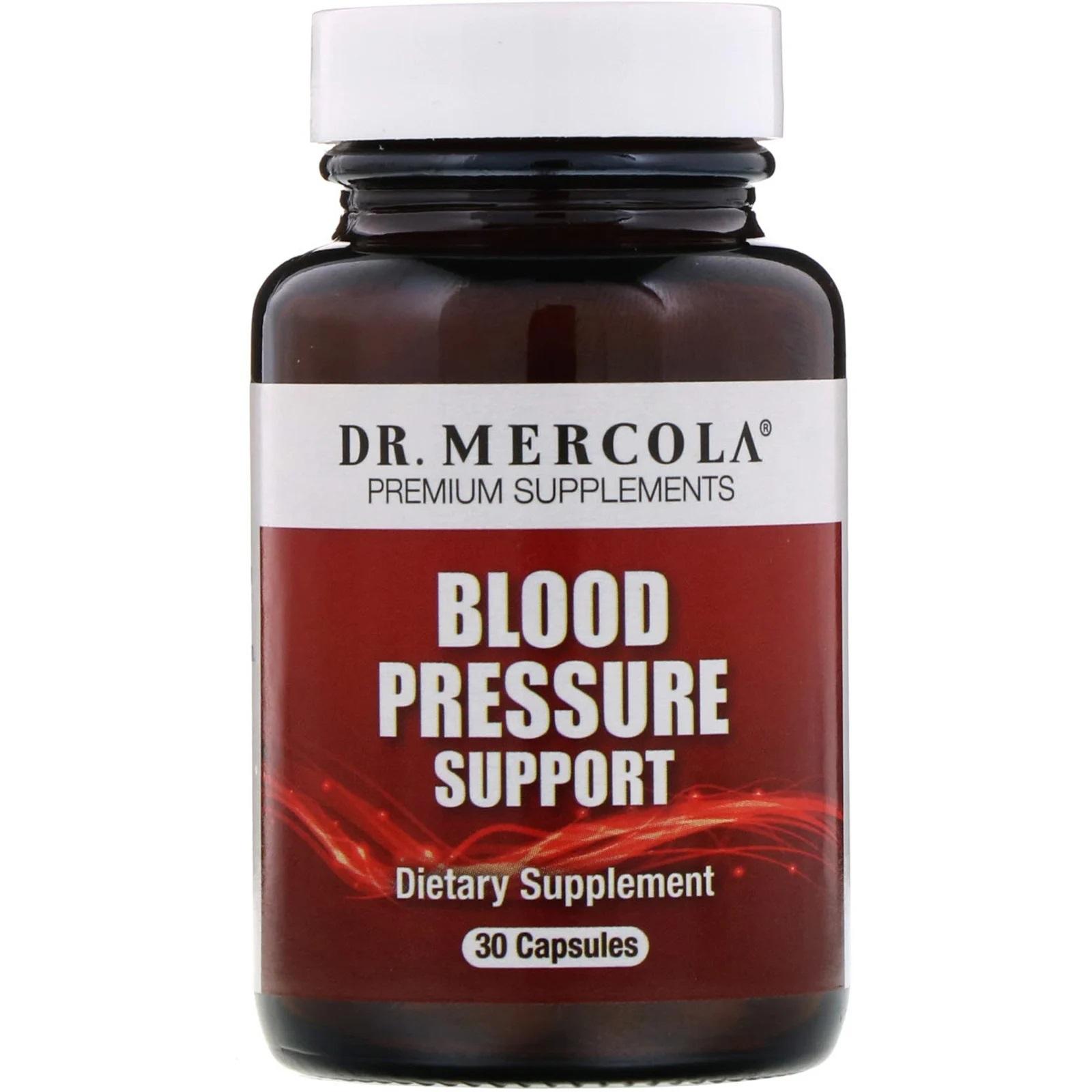 Image of Supporto di pressione sanguigna (30 capsule) - Dr. Mercola 0813006016728