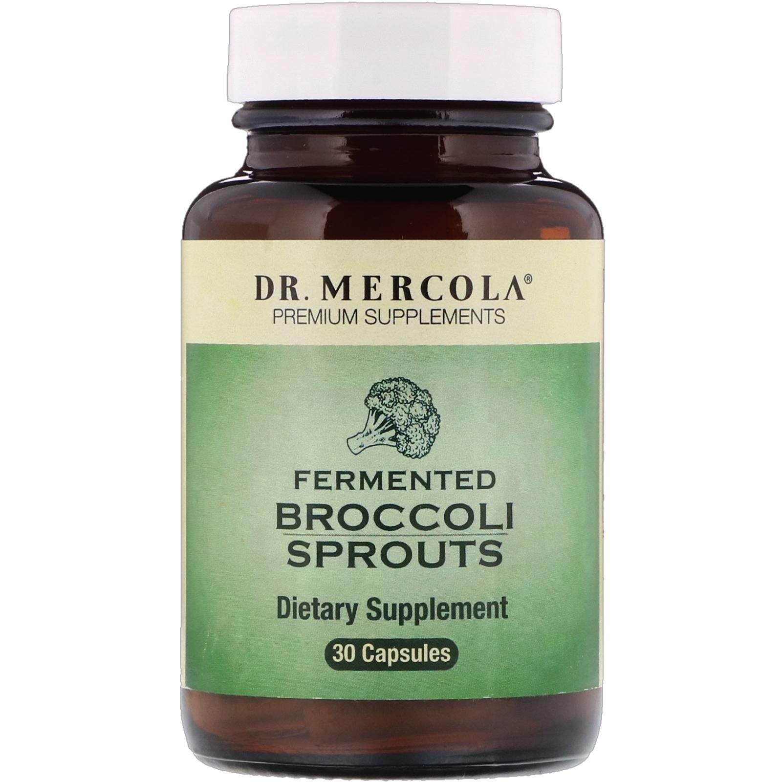 Fermented Broccoli Sprouts (30 Capsules) Dr. Mercola