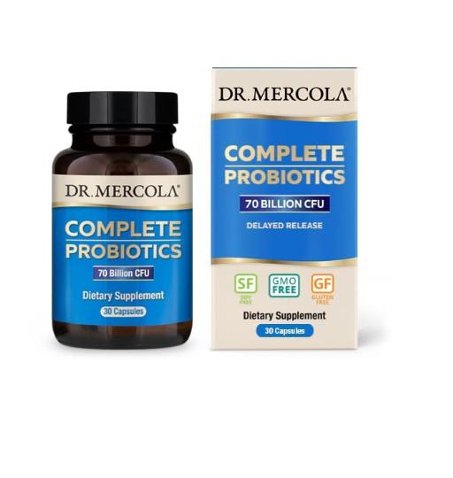 Image of Dr. Mercola, Complete Probiotics, 30 Capsules 0813006013185